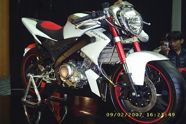 kumpulan modifikasi motor v-ixion 5